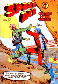 Cover Thumbnail for Space Ace (Atlas Publishing, 1960 series) #17