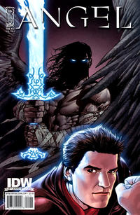 Cover for Angel (2009 series) #22 [Cover B - Nick Runge]