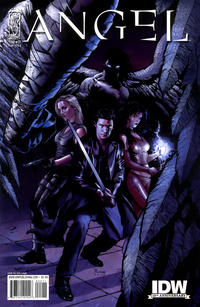 Cover for Angel (2009 series) #22 [Cover A - Gabriel Rodriguez]