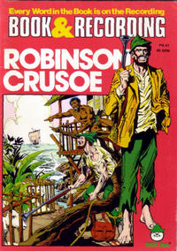 Cover Thumbnail for Robinson Crusoe [Book and Record Set] (Peter Pan, 1981 series) #PR41