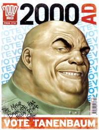 Cover Thumbnail for 2000 AD (Rebellion, 2001 series) #1712