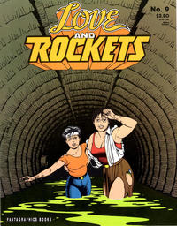 Cover Thumbnail for Love and Rockets (Fantagraphics, 1982 series) #9