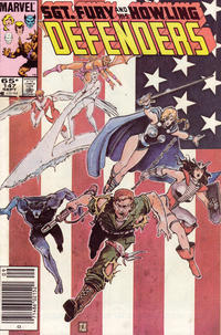 Cover Thumbnail for The Defenders (Marvel, 1972 series) #147 [Newsstand Edition]