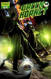 Cover Thumbnail for Green Hornet (Dynamite Entertainment, 2010 series) #11 [Jonathan Lau Cover]