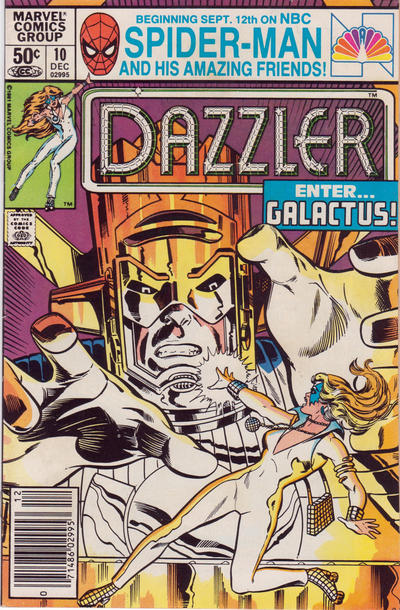 Cover for Dazzler (Marvel, 1981 series) #10 [Direct Edition]