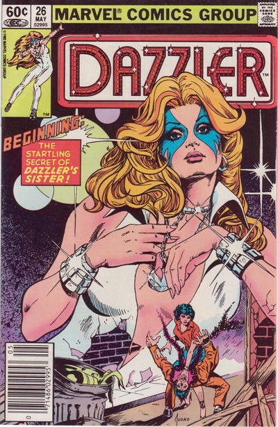 Cover for Dazzler (Marvel, 1981 series) #26 [Newsstand Edition]