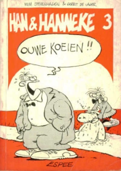 Cover for Han & Hanneke (1983 series) #3