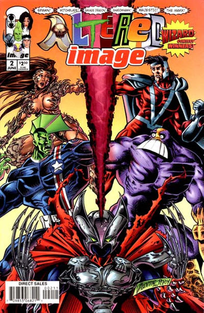 Cover for Altered Image (Image, 1998 series) #2
