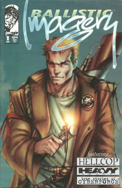 Cover for Ballistic Imagery (Image, 1996 series) #1