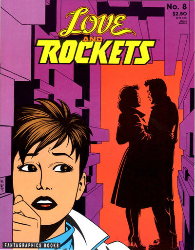 Cover for Love and Rockets (Fantagraphics, 1982 series) #8