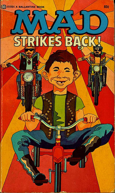 Cover for Mad Strikes Back (Ballantine Books, 1955 series) #01564