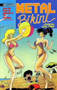 Cover Thumbnail for Metal Bikini (Malibu, 1990 series) #4