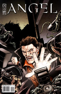 Cover for Angel (2009 series) #19 [Retailer Incentive Cover A - Nick Runge]
