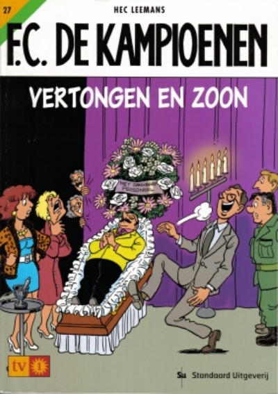 Cover for F.C. De Kampioenen (1997 series) #27