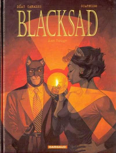 Cover for Blacksad (Dargaud éditions, 2000 series) #3 - Âme rouge