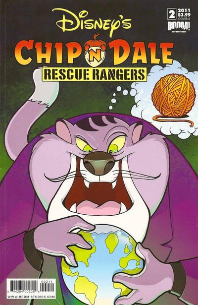 Cover for Chip 'n' Dale Rescue Rangers (2010 series) #2 [Cover C]
