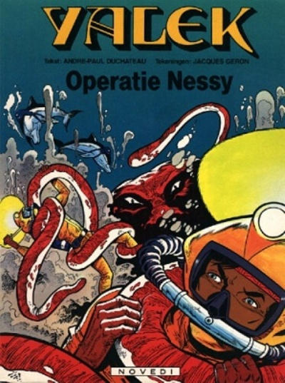 Cover for Yalek (1981 series) #[3] - Operatie Nessy