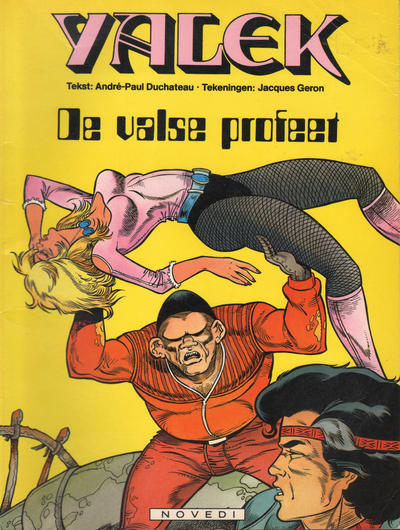 Cover for Yalek (Novedi, 1981 series) #7 - De valse profeet
