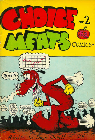 Cover for Choice Meats Comics (Adam's Apple, 1971 series) #2 [2nd print]