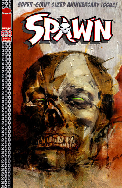 Cover for Spawn (Image, 1992 series) #200