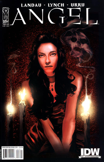 Cover for Angel (2009 series) #24 [Retailer Incentive Photo Cover (1 in 10)]