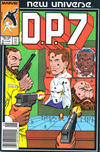 Cover for D.P. 7 (Marvel, 1986 series) #8 [Newsstand Edition]