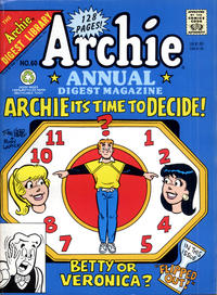 Cover Thumbnail for Archie Annual Digest (Archie, 1975 series) #60 [Direct]