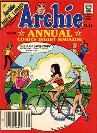 Cover Thumbnail for Archie Annual Digest (Archie, 1975 series) #45 [Canadian Newsstand]
