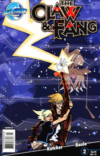 Cover Thumbnail for The Claw and Fang (Bluewater Productions, 2010 series) #2