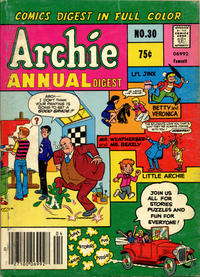 Cover Thumbnail for Archie Annual Digest (Archie, 1975 series) #30