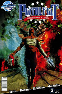 Cover Thumbnail for Pistolfist: Revolutionary Warrior (Bluewater Productions, 2008 series) #2
