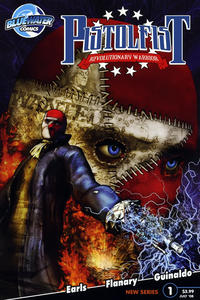 Cover Thumbnail for Pistolfist: Revolutionary Warrior (Bluewater Productions, 2008 series) #1 [Cover A]