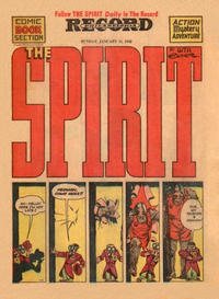Cover Thumbnail for The Spirit (Register and Tribune Syndicate, 1940 series) #1/11/1942