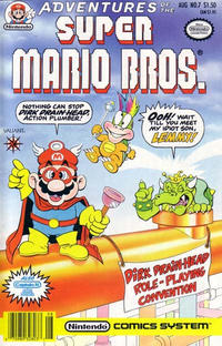 Cover Thumbnail for Adventures of the Super Mario Bros. (Acclaim / Valiant, 1990 series) #7