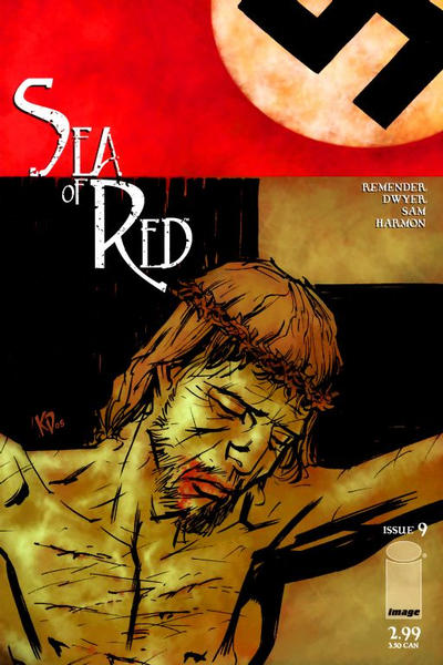 Cover for Sea of Red (Image, 2005 series) #9