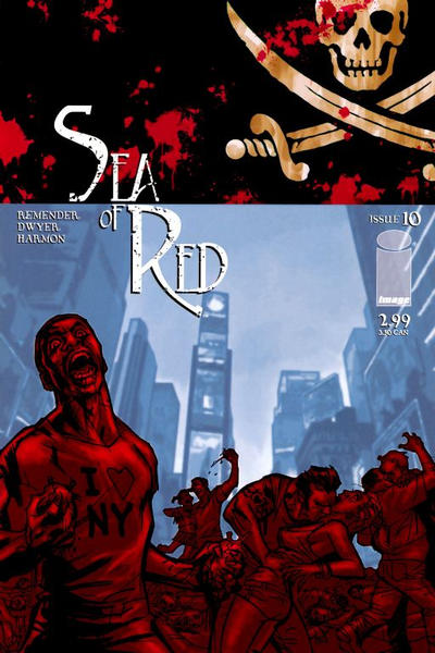 Cover for Sea of Red (Image, 2005 series) #10