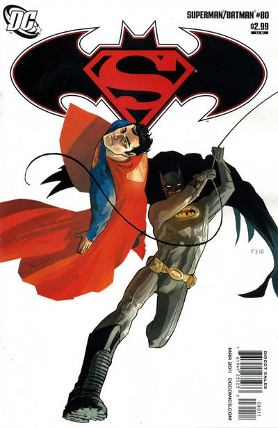 Cover for Superman / Batman (DC, 2003 series) #80