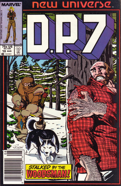 Cover for D.P. 7 (1986 series) #10 [Direct Edition]