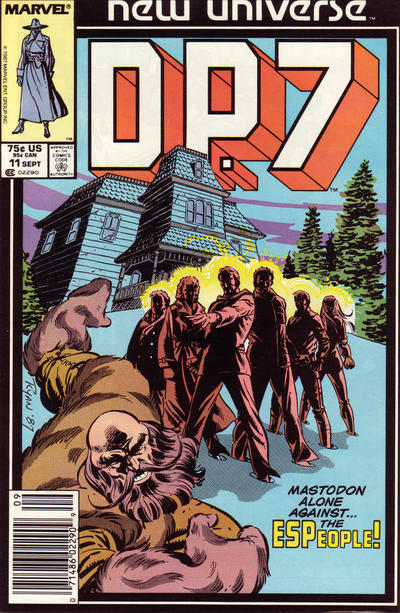 Cover for D.P. 7 (Marvel, 1986 series) #11 [Newsstand Edition]