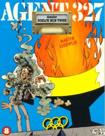 Cover for Agent 327 (Oberon, 1977 series) #8 - Dossier Dozijn min twee