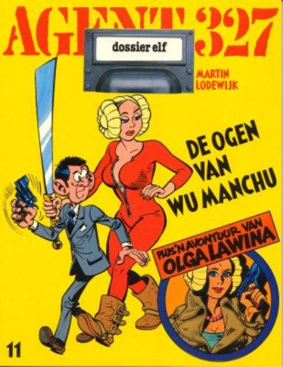 Cover for Agent 327 (Oberon, 1977 series) #11 - De ogen van Wu Manchu
