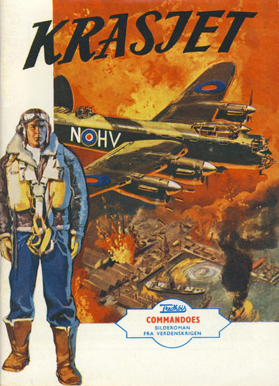 Cover for Commandoes (Fredhøis forlag, 1973 series) #2