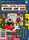 Cover for Archie... Archie Andrews Where Are You? Comics Digest Magazine (Archie, 1977 series) #9