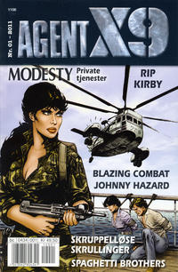 Cover Thumbnail for Agent X9 (Egmont Serieforlaget, 1998 series) #1/2011