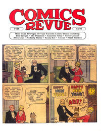 Cover Thumbnail for Comics Revue (Manuscript Press, 1985 series) #168