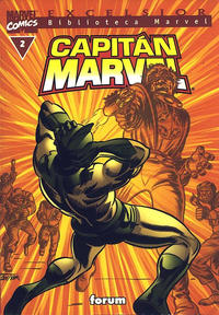 Cover Thumbnail for Biblioteca Marvel: Capitán Marvel (Planeta DeAgostini, 2002 series) #2