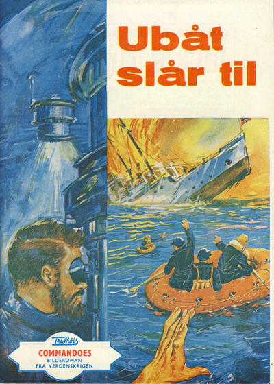 Cover for Commandoes (Fredhøis forlag, 1973 series) #16