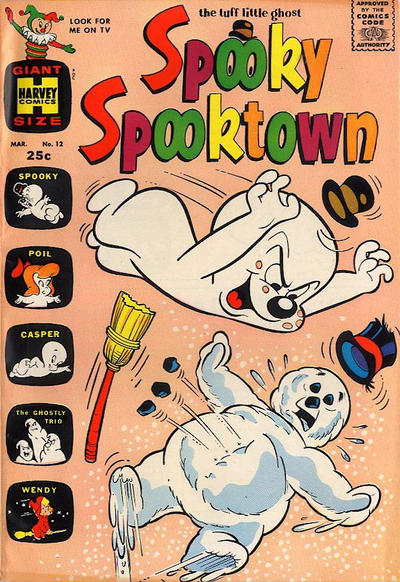 Cover for Spooky Spooktown (Harvey, 1961 series) #12