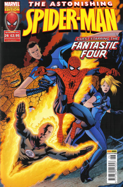 Cover for Astonishing Spider-Man (2009 series) #26