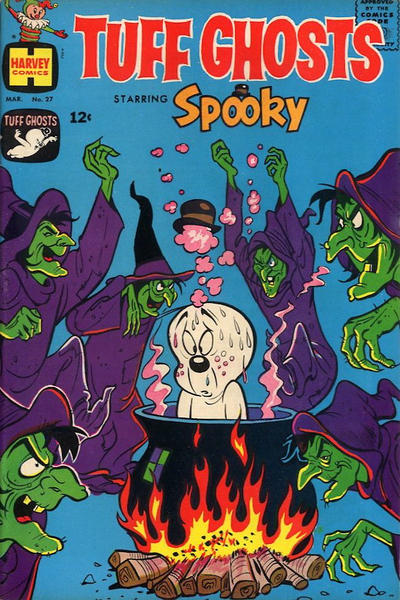 Cover for Tuff Ghosts Starring Spooky (Harvey, 1962 series) #27